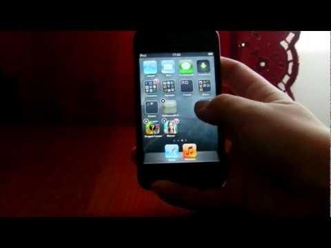 Как создать папку на iphone , ipod , ipad.