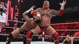 CM Punk vs. Daniel Bryan & Lord Tensai - 2-on-1 Handicap Match: Raw, May 7, 2012