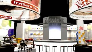 Exhibition Stand Design - Kids Ii 3d Fly-through