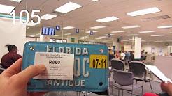 Coveted Antique Florida License Plate! | vlog 105