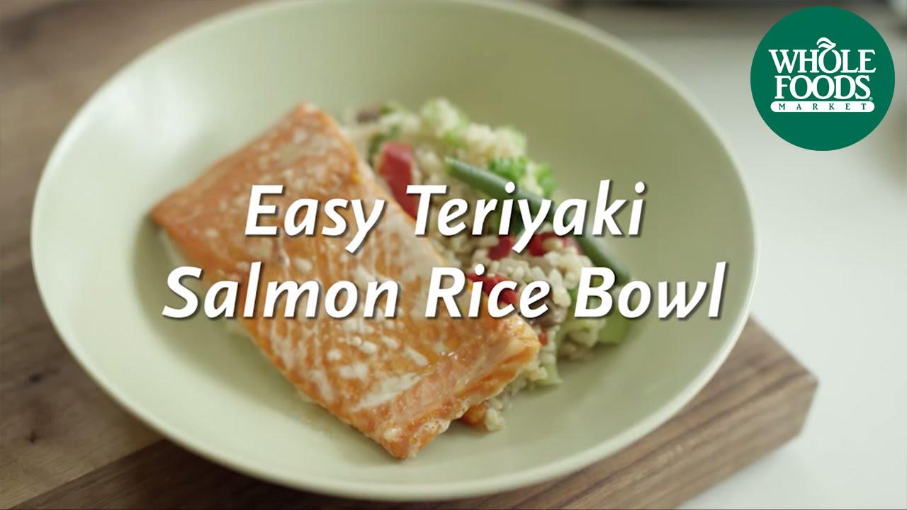Whole Foods Teriyaki Salmon