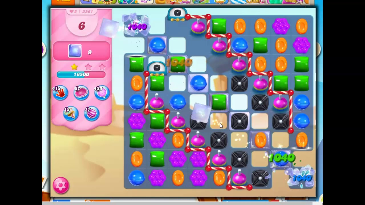 Download Candy Crush Level 3561 Talkthrough, 17 Moves 0 Boosters