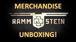 Rammstein Merchandise Unboxing | #1