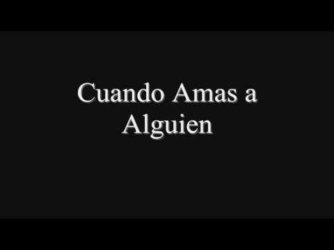 Cuando Amas a Alguien - Noel Schajris ( Lyrics/Letra )HD