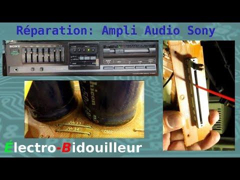 EB_#176 Réparation: Amplificateur Audio Sony TA-AX335