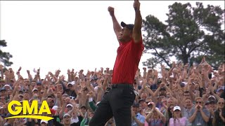 Tiger Woods wins 5th Masters after incredible comeback l GMA