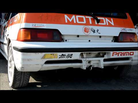 Straight Muffler Exhaust Sound Honda CITY  CIVIC VTEC JDM Engine
