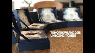 tomorrowland 2018   unboxing tickets