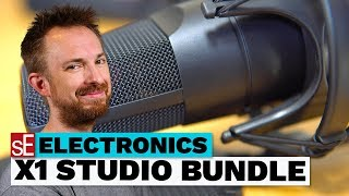 sE Electronics X1 Studio Bundle Setup