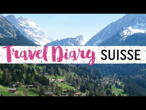 Vlog #103 - TRAVEL DIARY | SUISSE