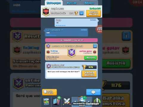 Clash Royale/Th3K1ng bs Srfire