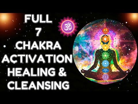 7 CHAKRA DHYAAN MANTRA : MOST POWERFUL MANTRA TO HEAL ALL CHAKRAS