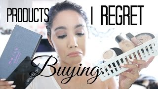 PRODUCTS I REGRET BUYING #8 GIVEAWAY UPDATES | BECKYMORFIN