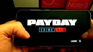 PAYDAY CRIME WAR on the Xiaomi Pocophone F1 MAX SETTINGS