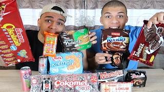 Süßigkeiten Test - TÜRKEI !!! | PrankBrosTV