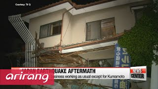 Live from Japan, Earthquake aftermath