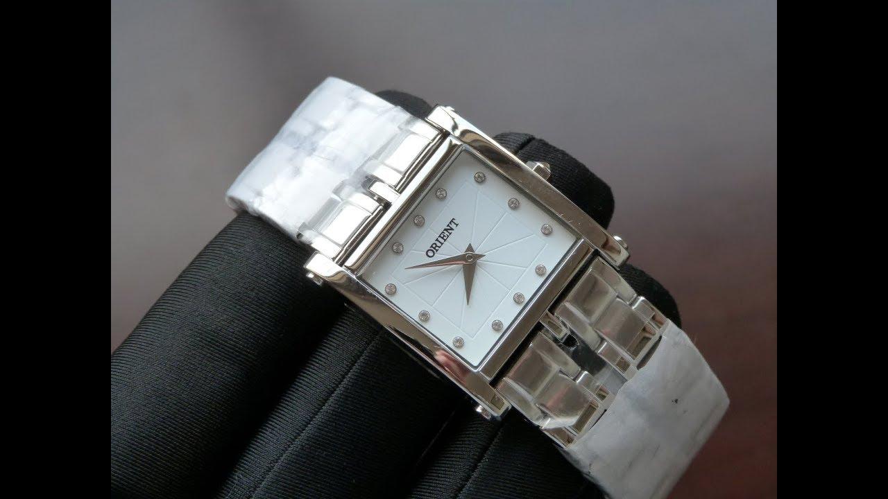 adaf64d399d Relógio Feminino Prata Orient LBSS0078 B1VX Eternal Cristais - YouTube