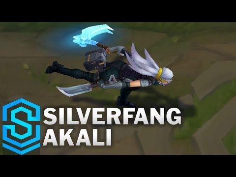 Silverfang Akali (2018) Skin Spotlight - League of Legends