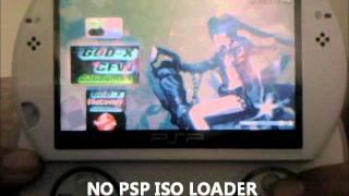 PSP Go Running Ultimate GOD VI CFW 6.60, 6.20, 6.35, 6.39