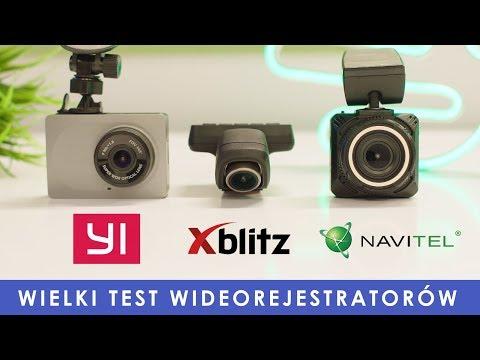Porównanie rejestratorów samochodowych - Xiaomi YI Dash vs Xblitz X5 vs Navitel R600 QHD
