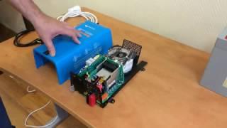 видео Инвертор с чистым синусом Victron Phoenix 12/180 — купить автомобильный инвертор с разъемом прикуривателя в Солнечные.RU