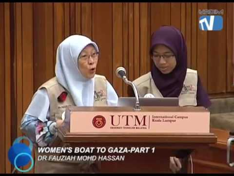 Women's Boat To Gaza Part 1 2