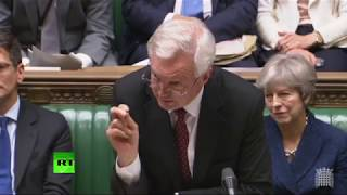 LIVE: MPs debate Brexit Bill in Parliament (Day 1)