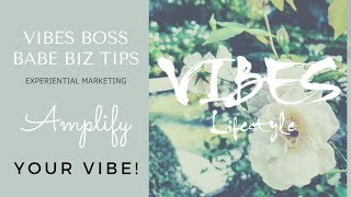 AMPLIFY YOUR VIBE