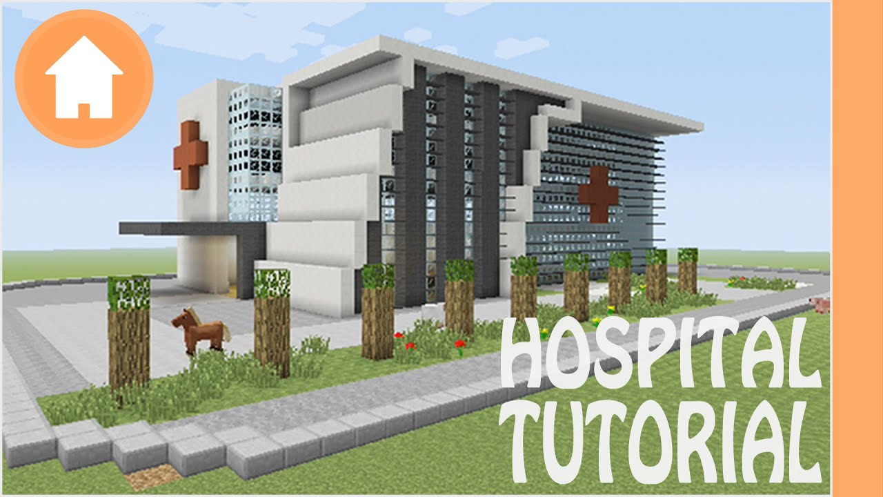 How To Find Blueprints Of Your House Minecraft Tutorial Hospital Tutorial 1 Minecraft Xbox