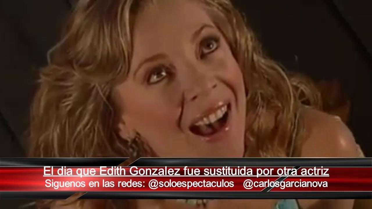 El día que Televisa despidió a Edith Gonzalez por su embarazo