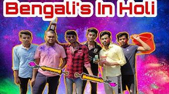Bengali's during Holi || Happy Holi || Bengali Funny Video 2020 || FUN4YOU
