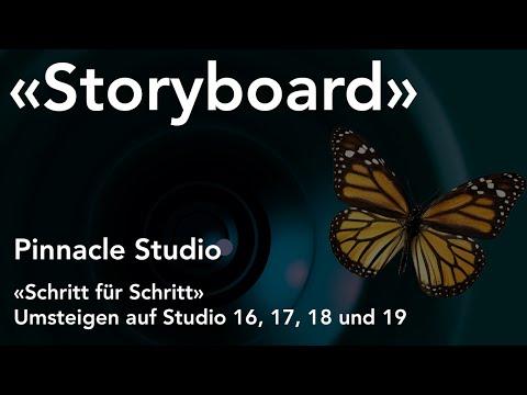 Storyboard in Pinnacle Studio  - Umsteigen auf Studio 16, 17, 18 und 19