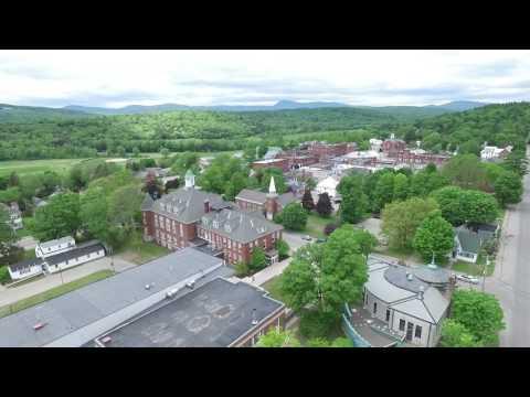University of Maine at Farmington by Drone