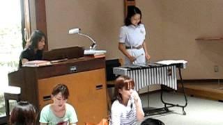 伊東聖母幼稚園で行われたファミリーコンサート 作詞作曲 水野ひさえ 「...