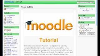 Moodle Tutorial: Intro
