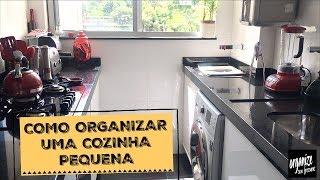 COMO ORGANIZAR UMA COZINHA PEQUENA - IDEIAS DE SEGUIDORA | Organize sem Frescuras!