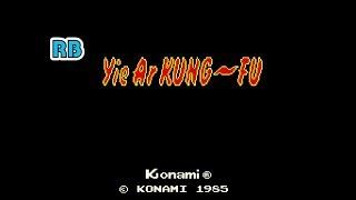 1985 [60fps] Yie Ar Kung-Fu DEMO