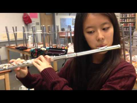Flute Students play Hallelujah by Handel