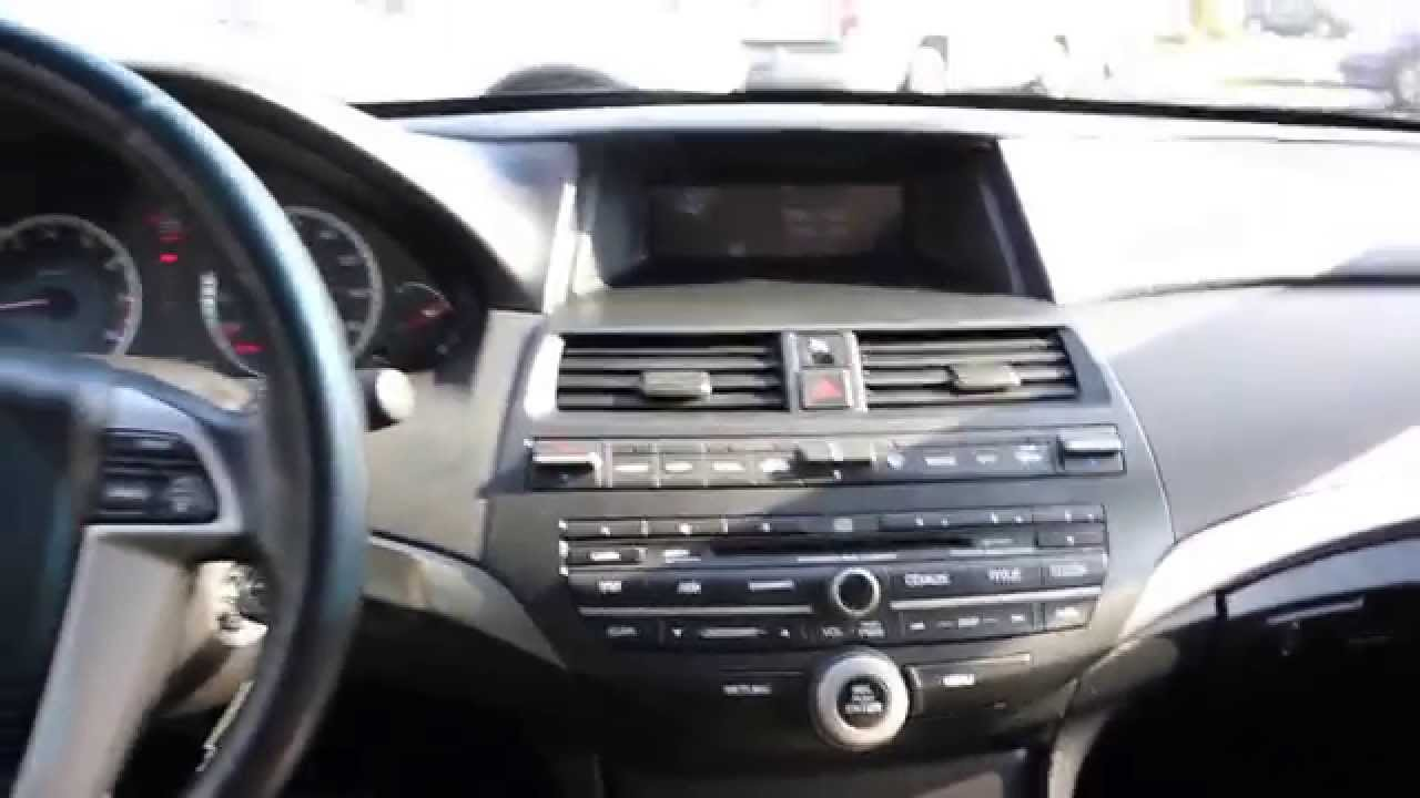 2008 Honda Accord Gray Stock 14229j Interior Youtube