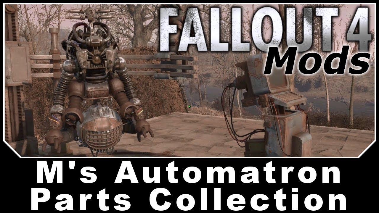 Fallout 4 Mods - M's Automatron Parts Collection