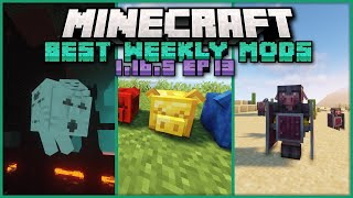 Top 20 New Mods Released for Minecraft 1.16.5 Released This Week for Forge &amp Fabric!