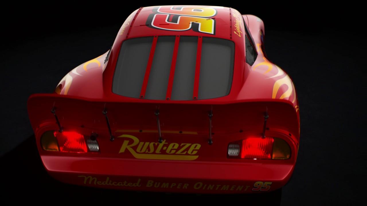Presentación De 3Rayo Personajes Cars Mcqueen EDYeWH29Ib