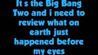 Chameleon Circuit - The Big Bang Two Lyrics