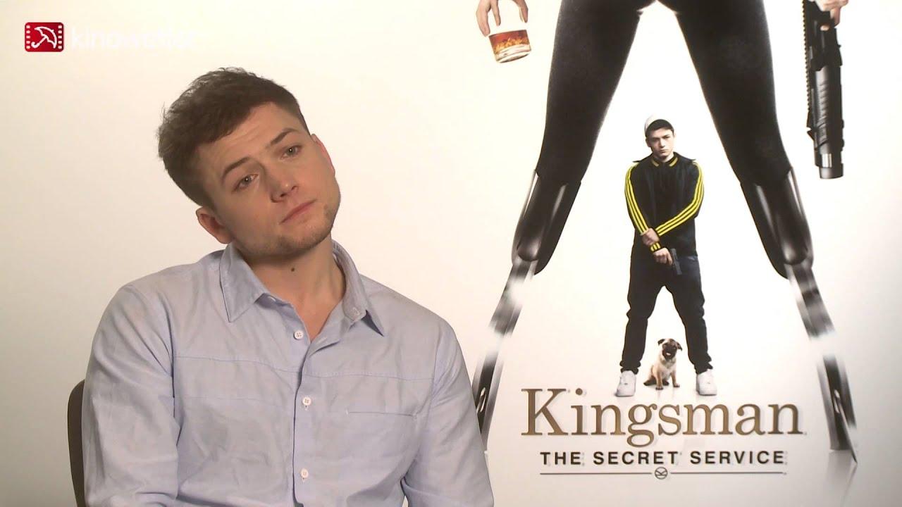 Kingsman The Secret Service Interview: Interview Taron Egerton KINGSMAN: THE SECRET SERVICE