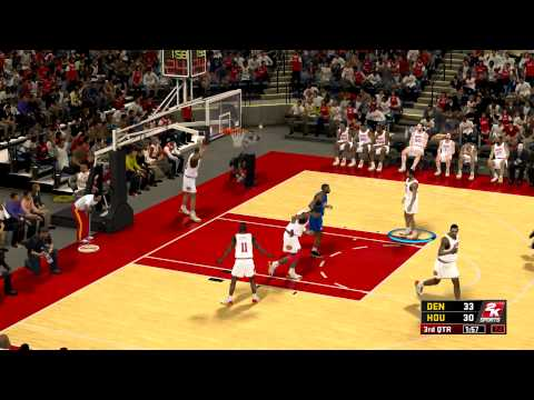 NBA2K12 - NBA's Greatest Mode - Hakeem Olajuwon