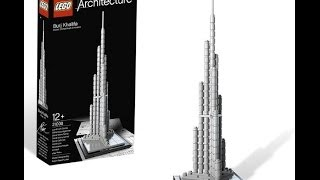 LEGO BURJ KHALIFA REVIEW!!!!!