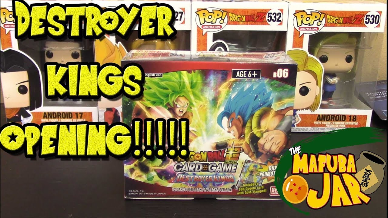 Dragon Ball Super Destroyer Kings Booster Box opened