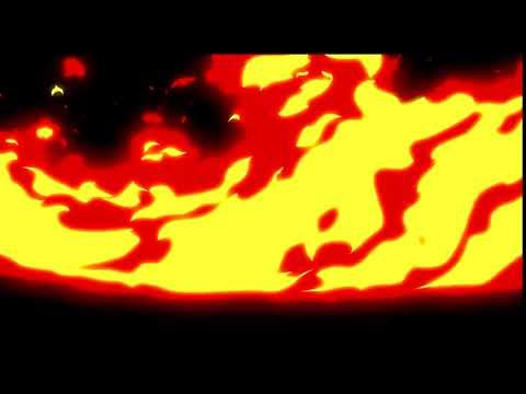 Переход Огонь на зеленом фоне   Огненный переход, который использую  720 X 1280