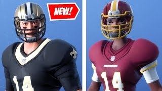 "NEW ""FOOTBALL"" SKINS v6.22 in FORTNITE! - 33 NFL SKINS, LEAKS, ITEM SHOP (Fortnite Update)"