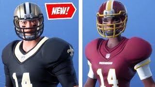 "NEUE ""FOOTBALL"" SKINS v6.22 in FORTNITE! - 33 NFL SKINS, LEAKS, ITEM SHOP (Fortnite Update)"